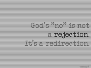 God's rejection