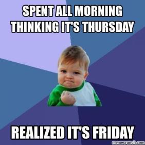 one of those weeks