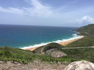 ocean on hill
